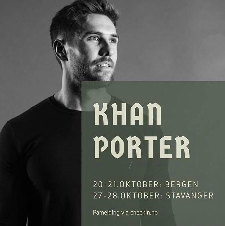 Khan porter visits CrossFit Ask in October